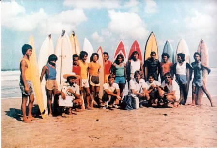 Bali Surfing Club 1976