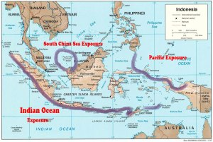 Indo surf zone exposure