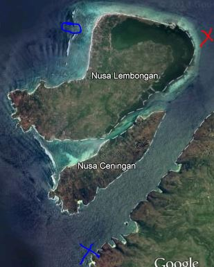 nusa lembongan missing dive
