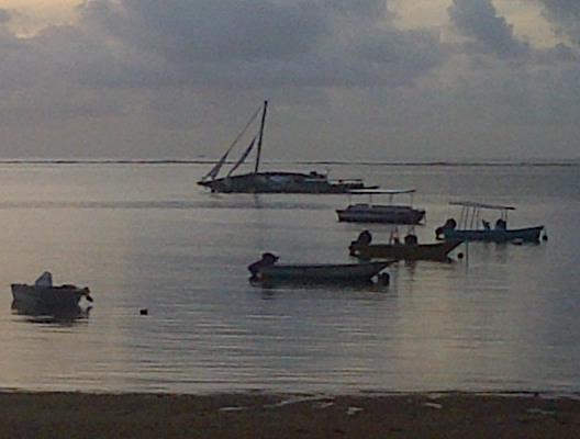 sunk yacht