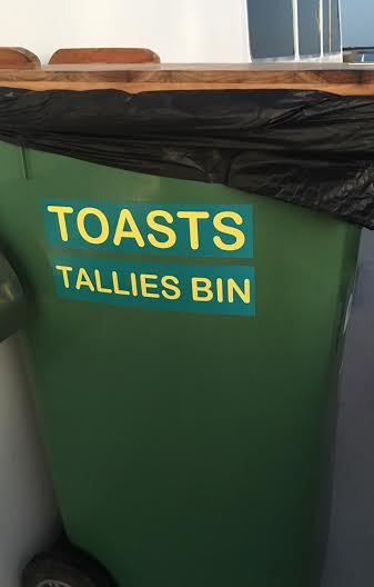 tallies bin