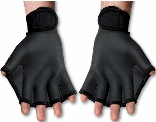 webbed gloves